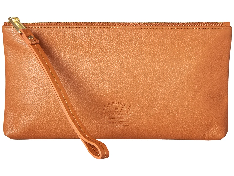 Herschel Supply Co. - Casey (Tan) Clutch Handbags