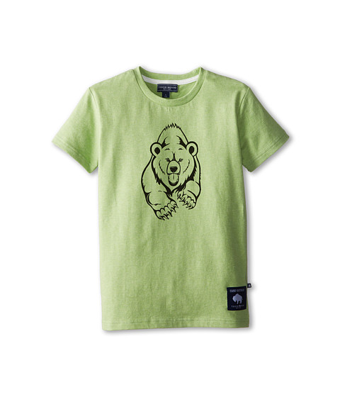 Toobydoo - Camp Buffalo Grizzly T-Shirt (Infant/Toddler/Little Kids/Big Kids) (Green) Boy