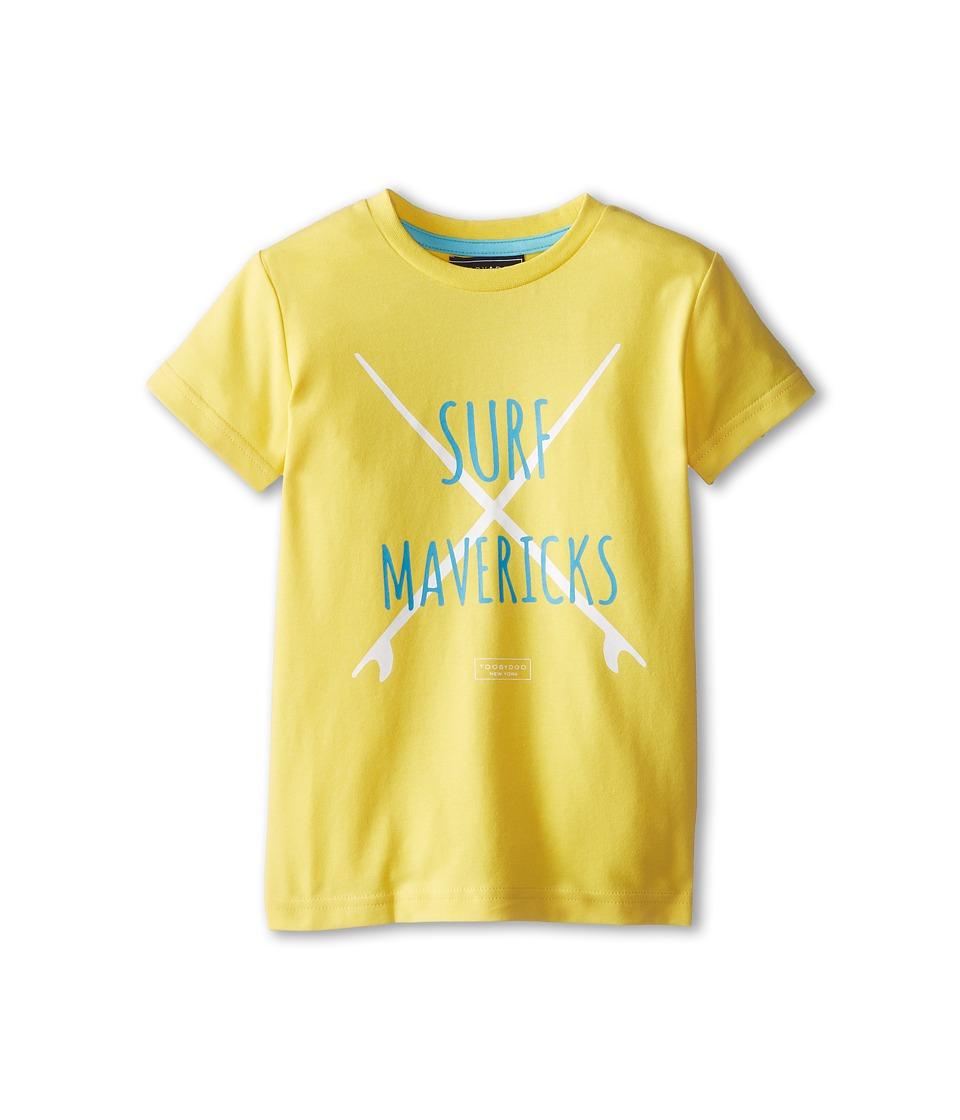 Toobydoo - Surf Mavericks T-Shirt (Infant/Toddler/Little Kids/Big Kids) (Yellow) Boy