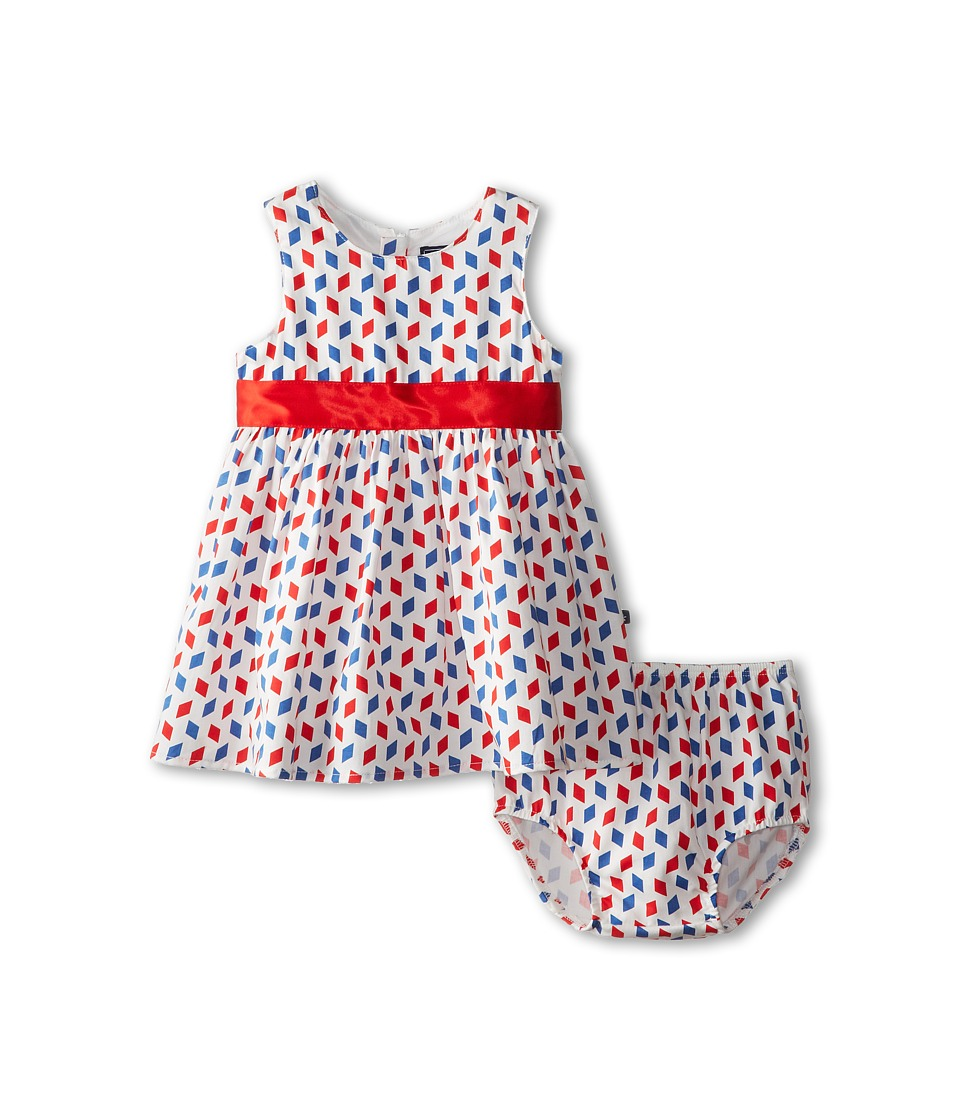 Toobydoo - Alessia Party Dress (Infant/Toddler/Little Kids/Big Kids) (Blue Red White) Girl