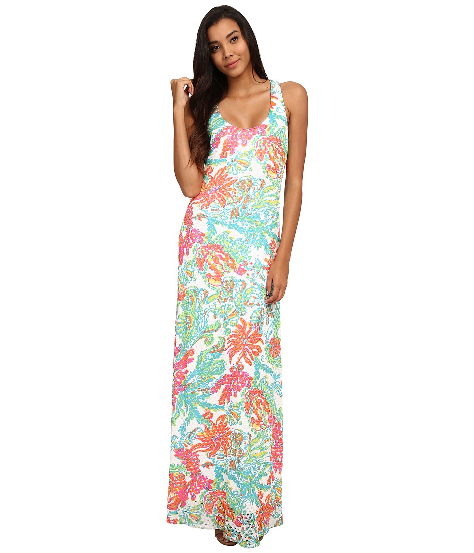 Lilly Pulitzer - Astoria Maxi Dress (Resort White) Women's Dress