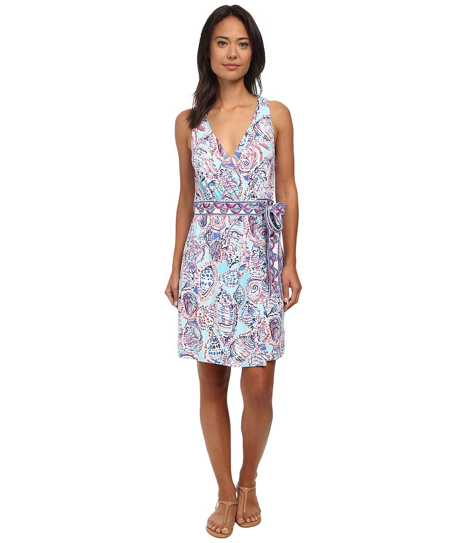 Lilly Pulitzer - Bellina Wrap Dress (Multi) Women