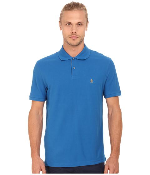 Original Penguin - Daddy-O Polo (Snorkel Blue) Men's Short Sleeve Pullover