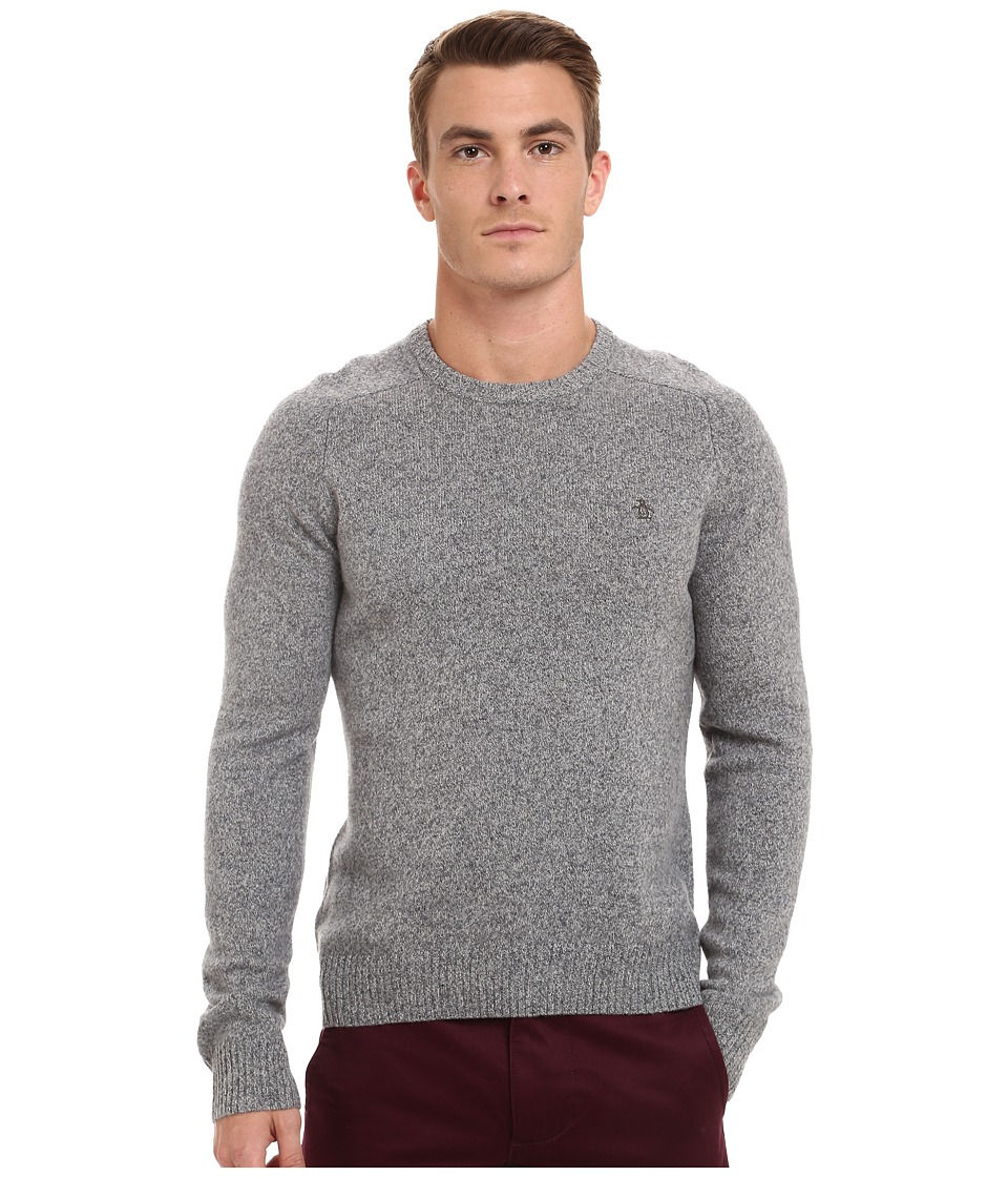 Original Penguin - Lambswool Crew w/ Contrast (Griffin) Men's Clothing