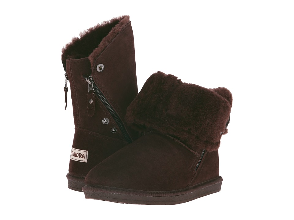 Tundra Boots - Alpine II (Chocolate) Women's Work Boots