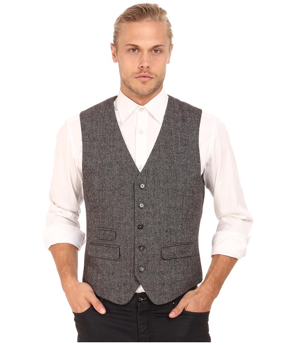 Original Penguin - Decon Heritage Vest (Eiffel Tower) Men's Vest