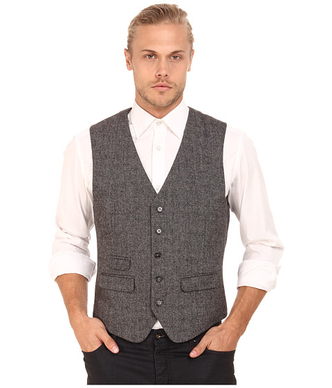Original Penguin - Decon Heritage Vest (Eiffel Tower) Men