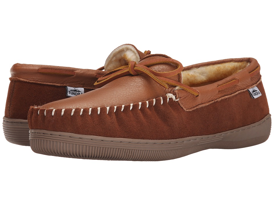Tundra Boots - Westford Deer (Tan) Men's Slippers