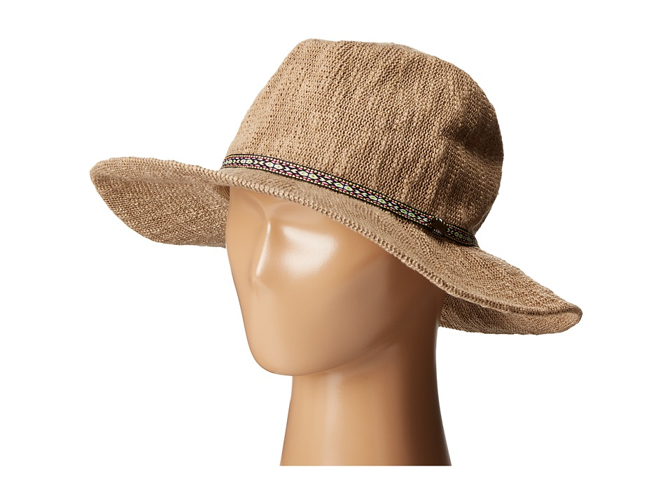 Volcom - City Trooper Fedora (Natural) Fedora Hats