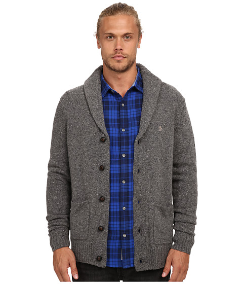 Original Penguin - Lambswool w/ Nylon Donegal (Eiffel Tower) Men