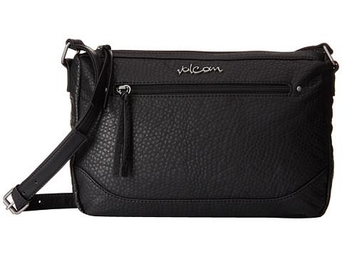 Volcom - All U Need Crossbody (Black) Cross Body Handbags