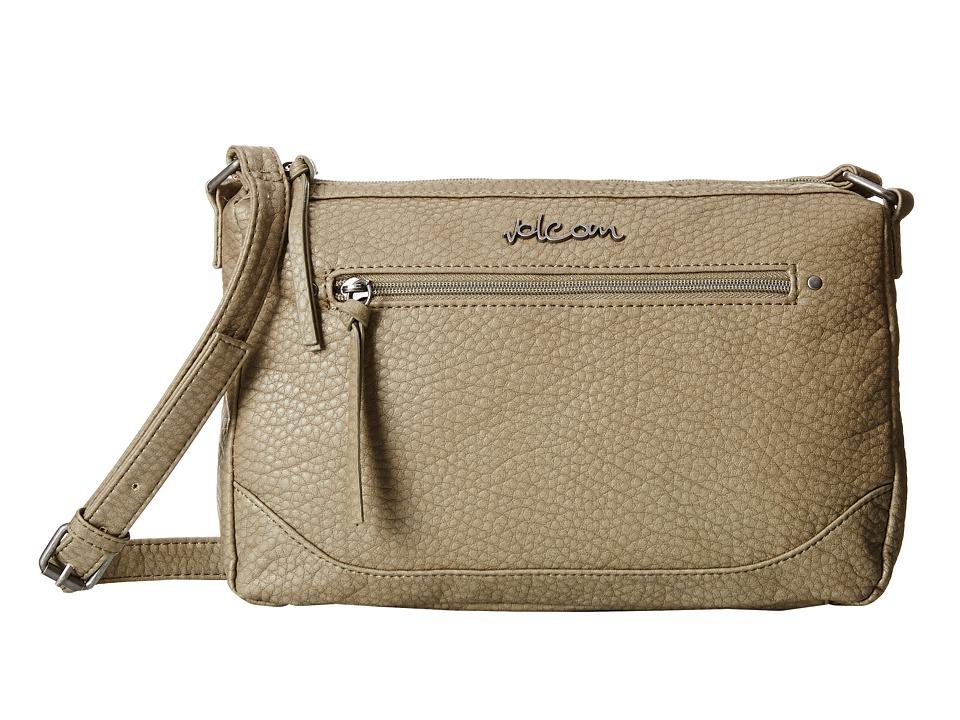 Volcom - All U Need Crossbody (Grey) Cross Body Handbags