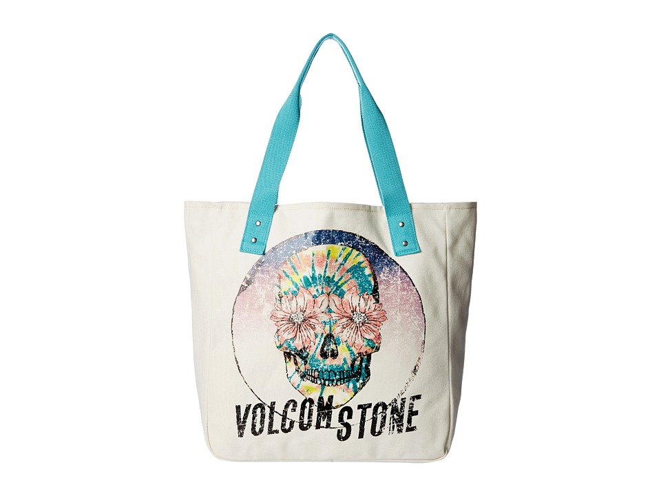 Volcom - Tote It Around (Blue Drift) Tote Handbags