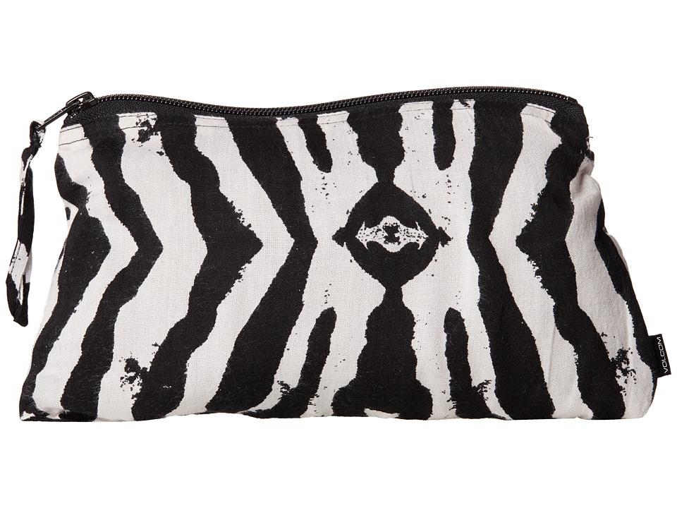 Volcom - Lolita Pouch (Black White) Wristlet Handbags