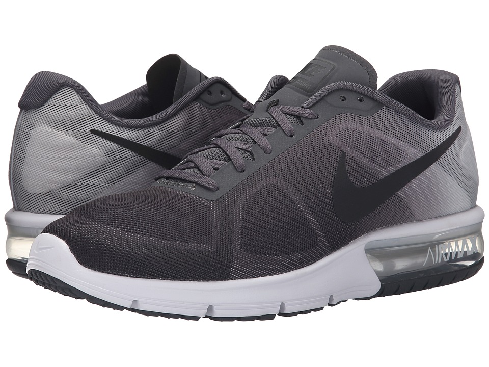 Nike - Air Max Sequent (Dark Grey/Pure Platinum/Metallic Platinum/Black) Men's Running Shoes