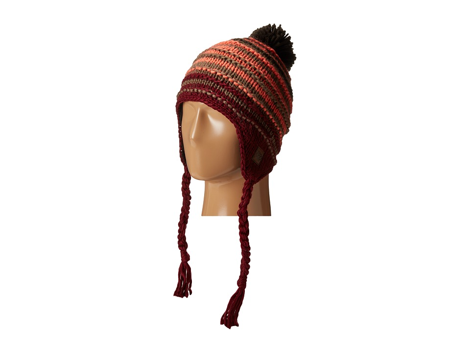 686 - Earflap Beanie (Wine) Knit Hats