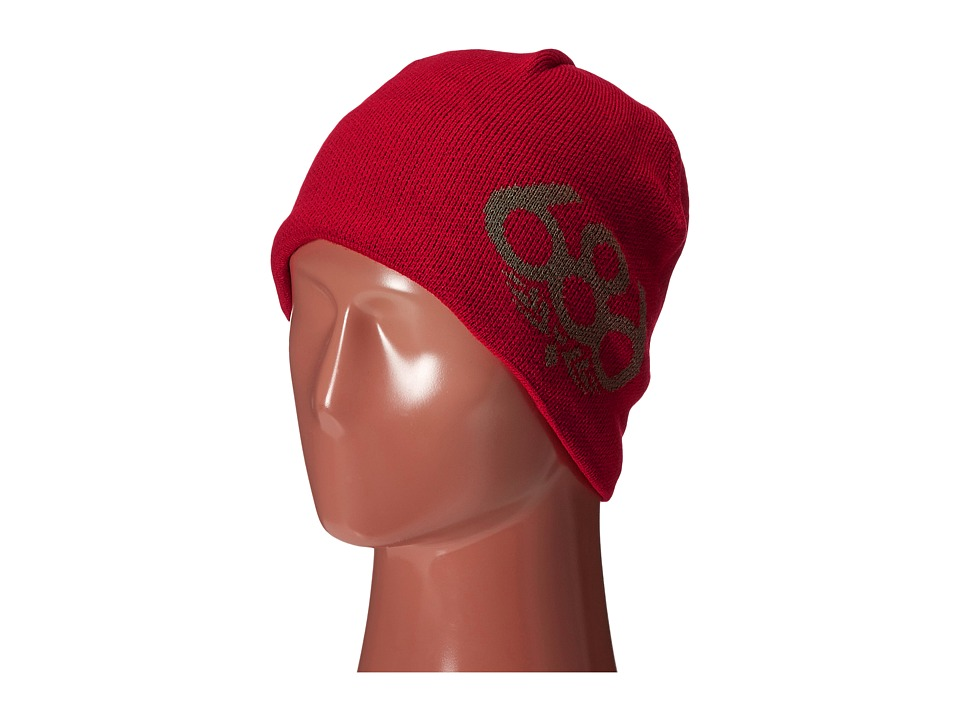 686 - Wreath Fleece Beanie (Cardinal) Knit Hats