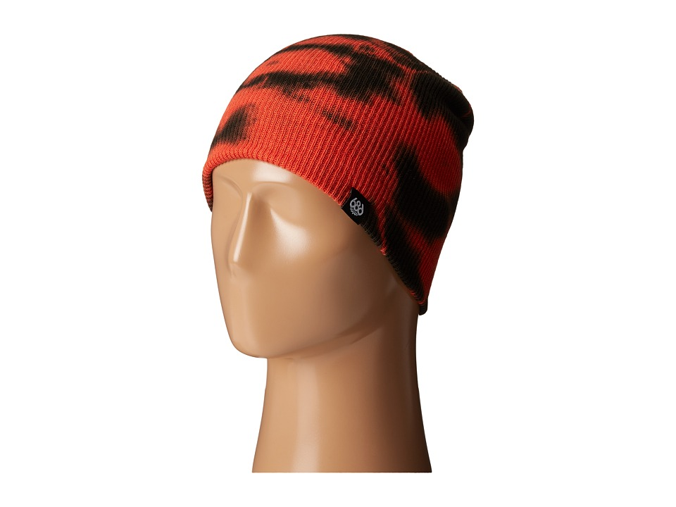 686 - Trippin Tie-Dye Beanie (Burnt Orange) Knit Hats