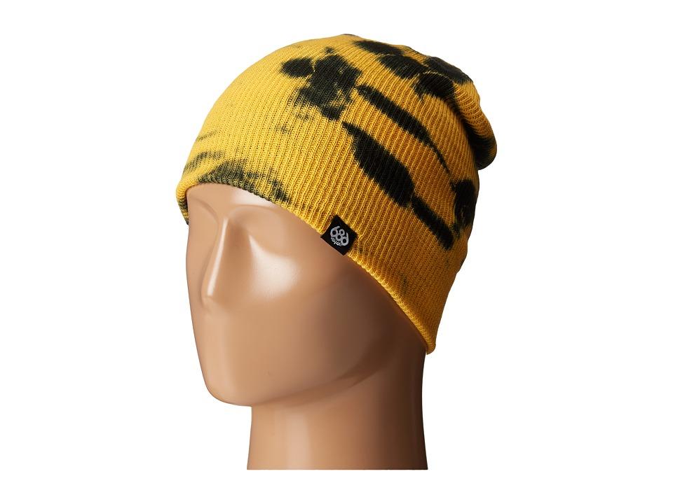 686 - Trippin Tie-Dye Beanie (Gold) Knit Hats