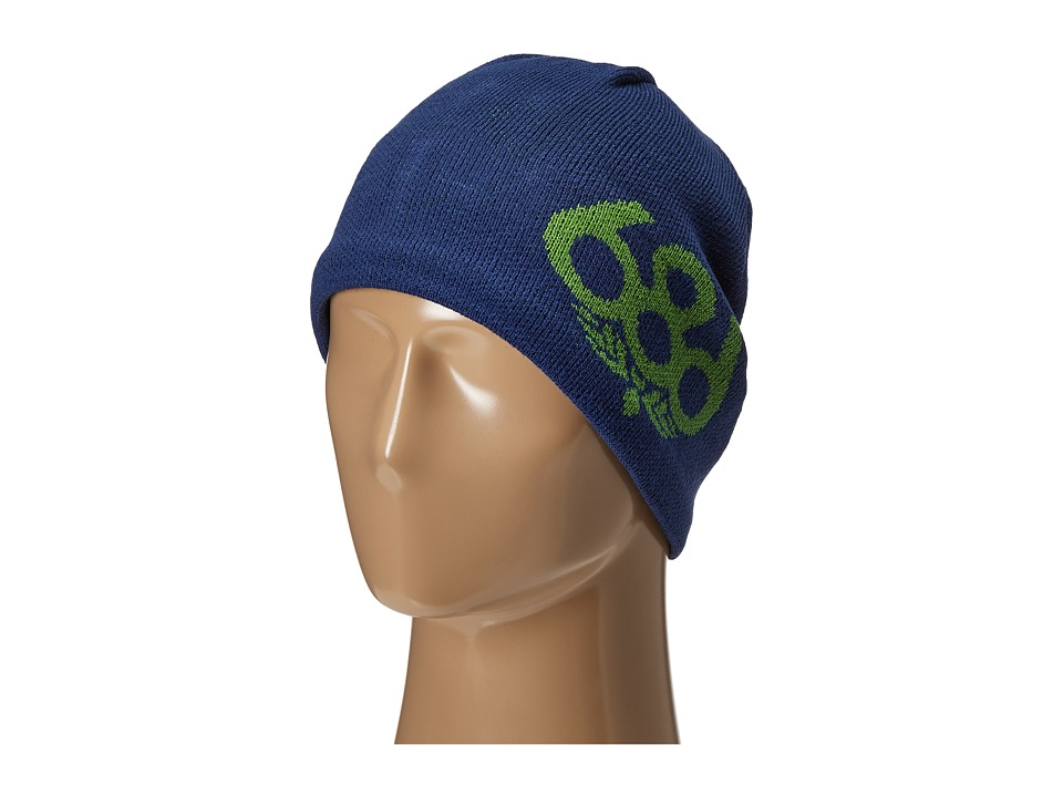 686 - Wreath Fleece Beanie (Indigo) Knit Hats