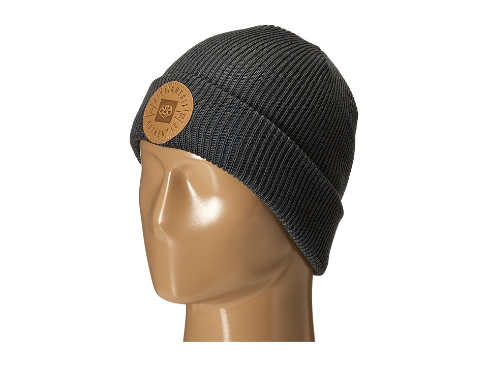 686 - Good Times Roll-Up Beanie (Gunmetal Heather) Knit Hats