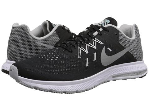 Nike - Zoom Winflo 2 Flash (Black/White/Reflect Silver) Men
