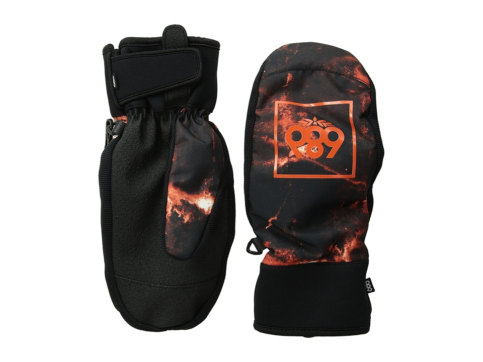 686 - Mountain Mitt (Burnt Orange Tie-Dye) Extreme Cold Weather Gloves