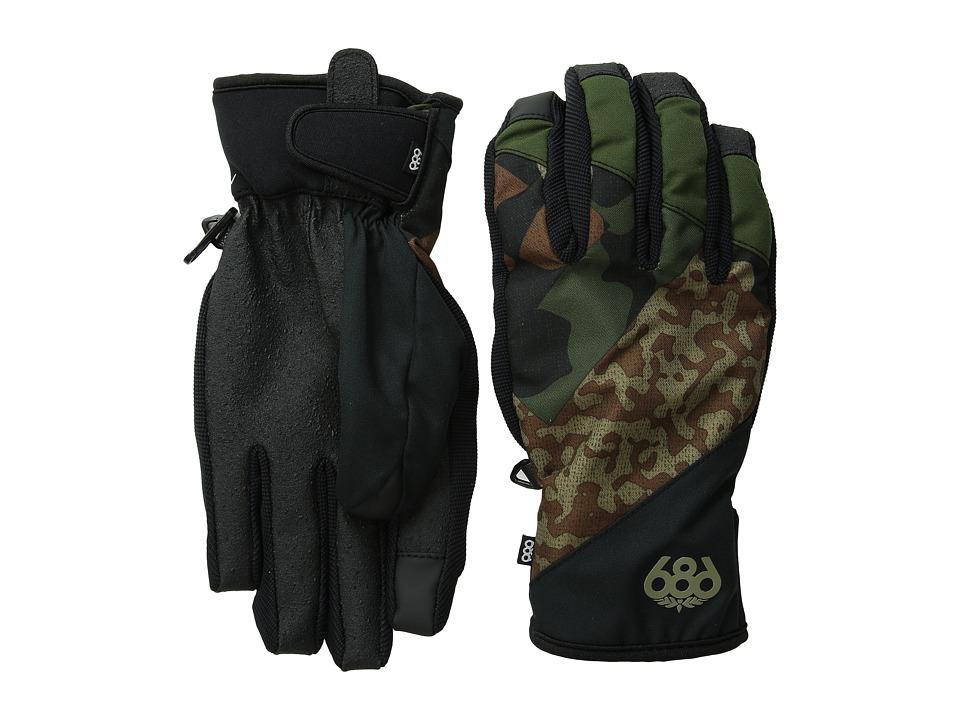 686 - Icon Pipe Glove (Army Cubist Camo) Extreme Cold Weather Gloves