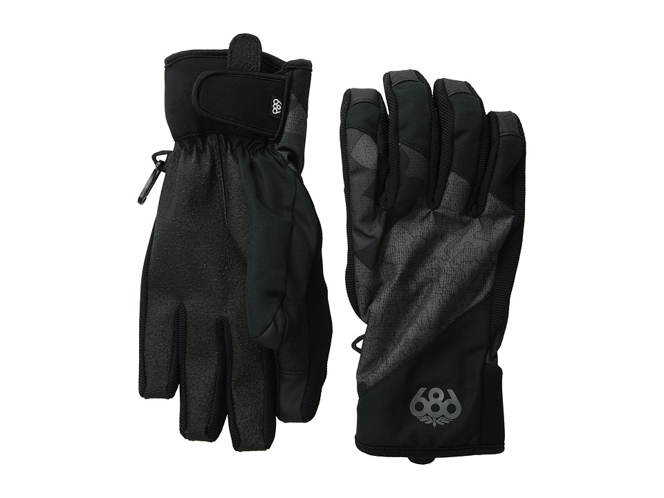686 - Icon Pipe Glove (Gunmetal Cubist Camo) Extreme Cold Weather Gloves