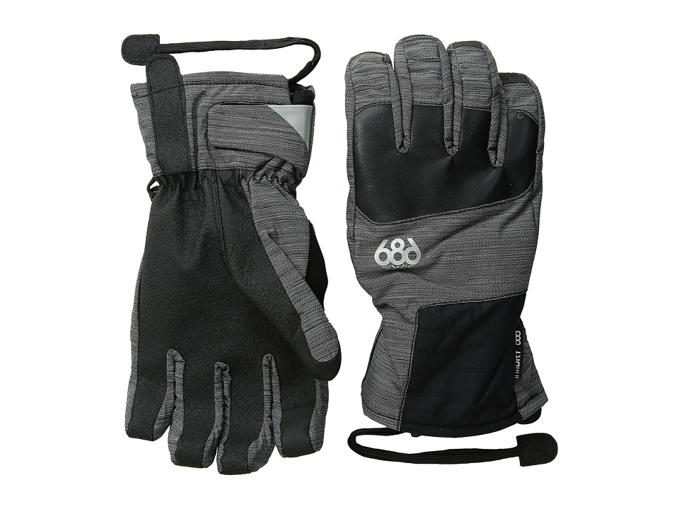 686 Sammy Luebke Burner Glove (Black) Extreme Cold Weather Gloves