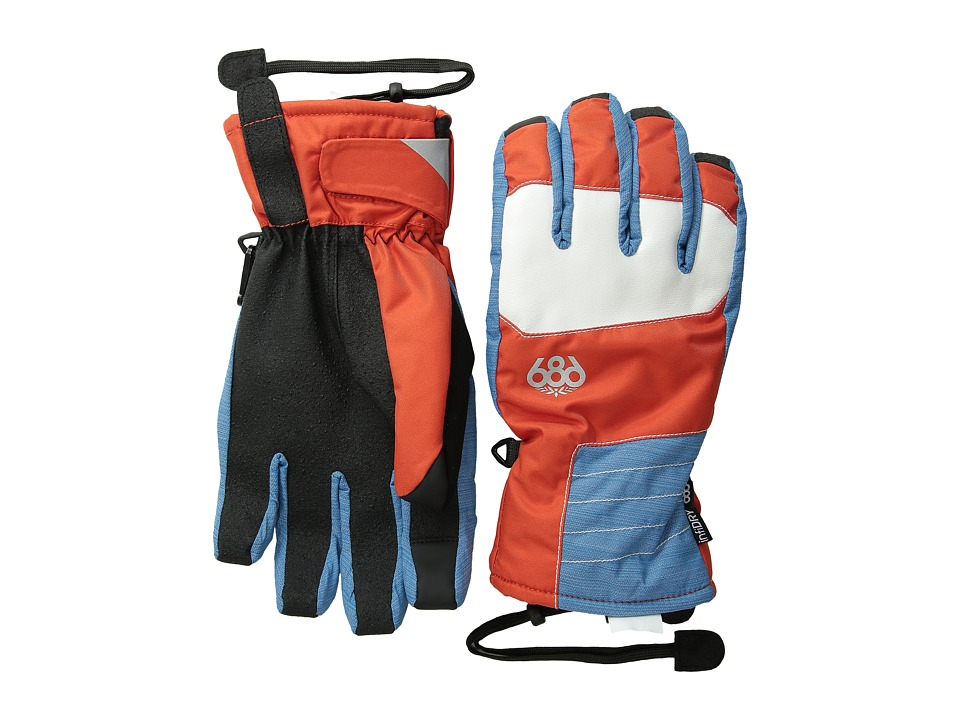686 - Sammy Luebke Burner Glove (Burnt Orange) Extreme Cold Weather Gloves