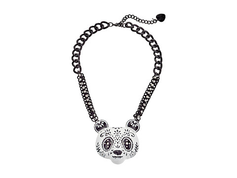 Betsey Johnson - Sugar Critters Necklace (Black/White 2) Necklace