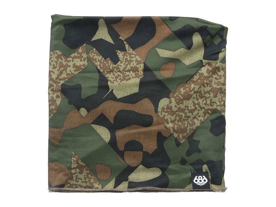 686 - Roller Race Gaiter (Hunter Cubist Camo) Knit Hats