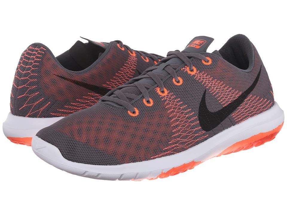 Nike Flex Fury (Dark Grey/Hyper Orange/Bright Crimson/Black) Men