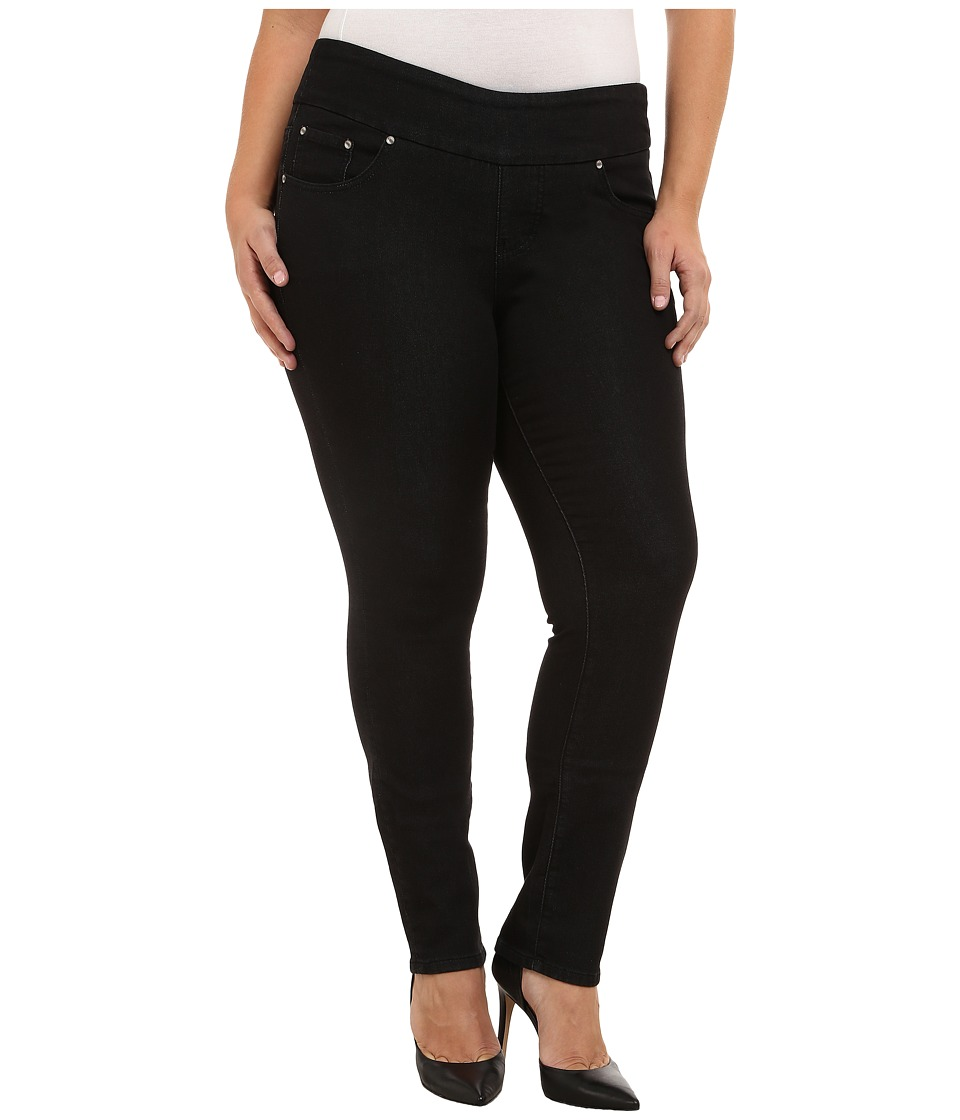 Jag Jeans Plus Size - Plus Size Nora Pull On Narrow Jeans in Black Rinse (Black Rinse) Women's Jeans