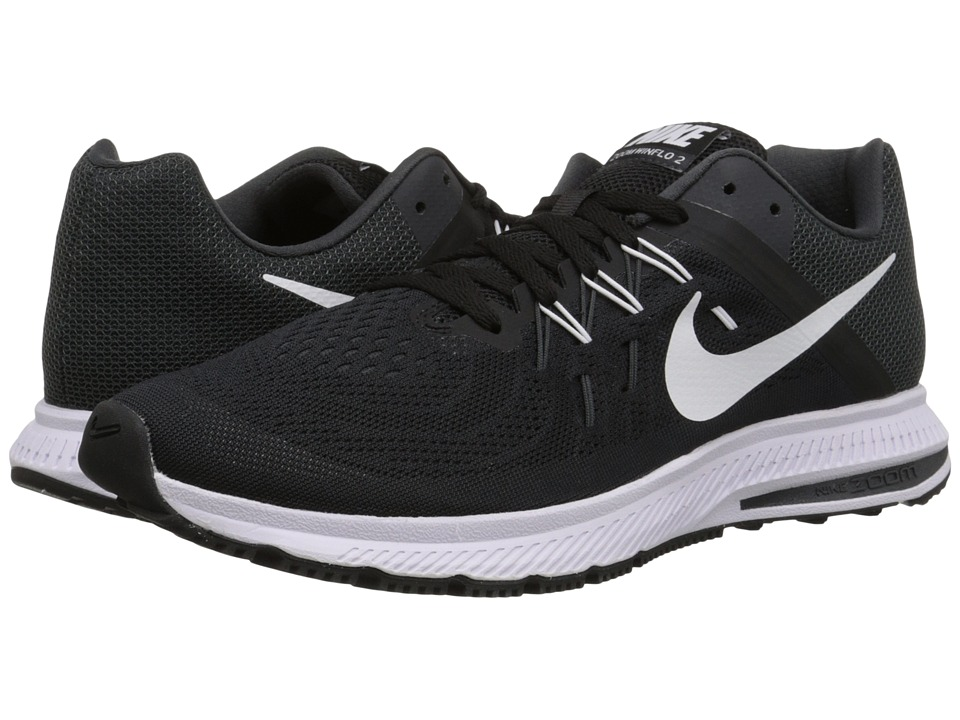 Nike - Zoom Winflo 2 (Black/Anthracite/White) Men's Running Shoes