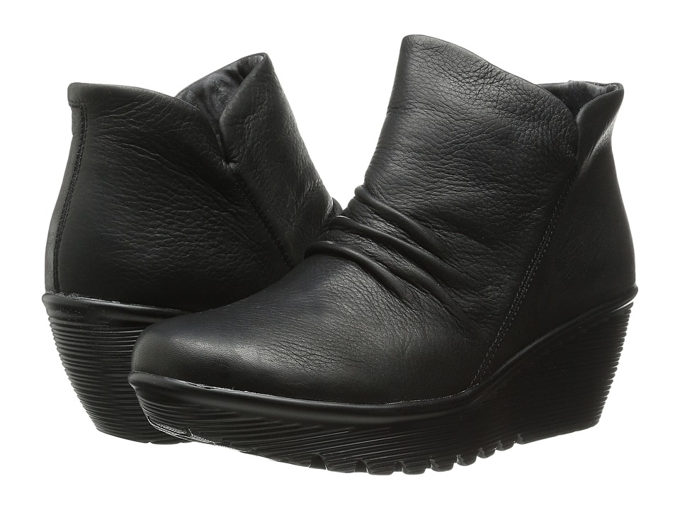 SKECHERS - Parallel - Universe Bootie (Black) Women's Pull-on Boots