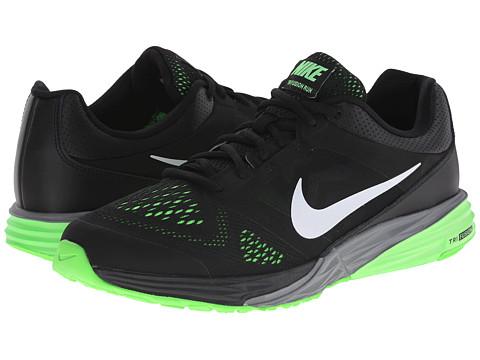 6197d616edc ... Shoe 749170 007 Size 13 UPC 888410129357 product image for Nike - Tri  Fusion Run (Black Green Strike  ...