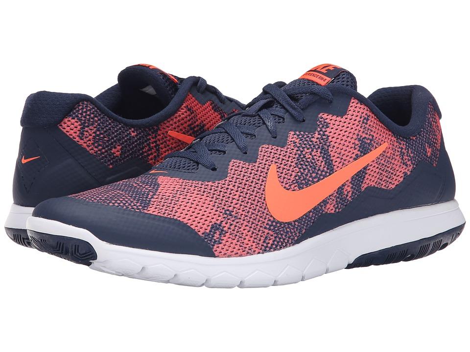 Nike - Flex Experience RN 4 Prem (Hyper Orange/Midnight/Hyper Orange) Men