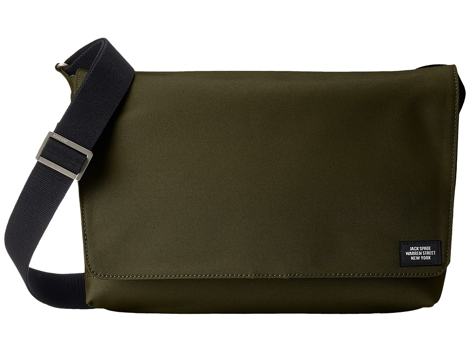 Jack Spade - Site Messenger (Green) Messenger Bags