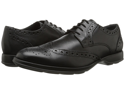 Lotus - Kingsheath (Black Leather) Men's Lace Up Wing Tip Shoes