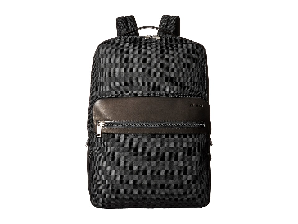 Jack Spade - Luggage Nylon Backpack (Black) Backpack Bags