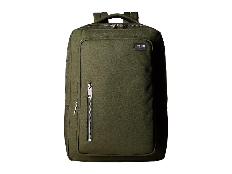 Jack Spade - Cargo Backpack (Green) Backpack Bags