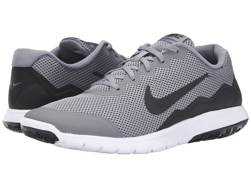Nike - Flex Experience Run 4 (Cool Grey/Black/White/Black) Men's Running Shoes