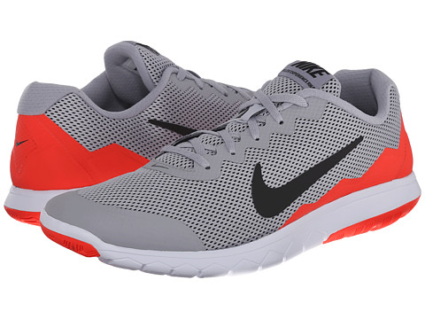 Nike - Flex Experience Run 4 (Wolf Grey/Bright Crimson/White/Black) Men's Running Shoes