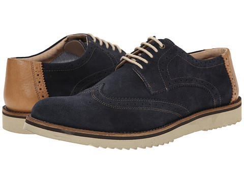 Lotus - Wincanton (Navy Suede) Men's Lace Up Cap Toe Shoes