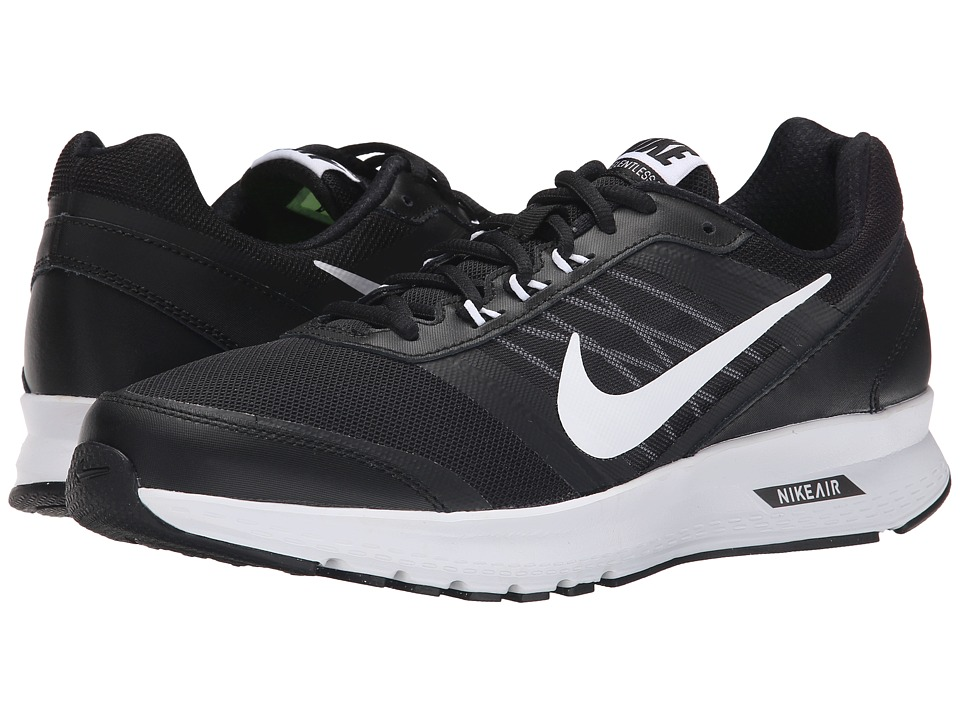 Nike Air Relentless 5 Black-Dark Grey-White Mens Running Shoes