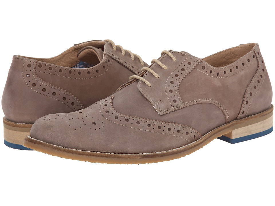 Lotus - Sandford (Tan Leather) Men's Lace Up Wing Tip Shoes