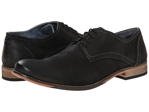 Lotus - Hanbury (Black Leather) Men's Lace Up Cap Toe Shoes