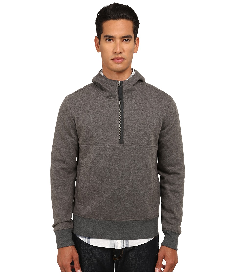Jack Spade - Brantling Hooded Sweatshirt (Charcoal) Men's Sweatshirt